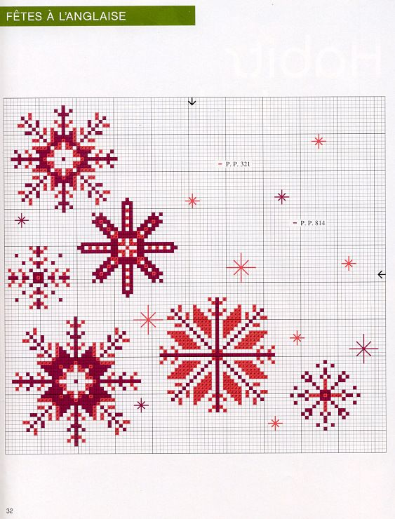 More snowflakes. Taken from mag I think....