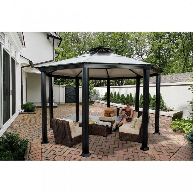 royal hardtop gazebo instructions