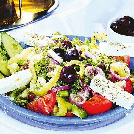 Klasszikus görög saláta Recept képpel - Mindmegette.hu - Receptek