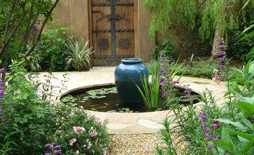 Garden on the Arroyo | Architecture: Ward Jewell & Associates Architect | Water Sculpture: Yoshikawa