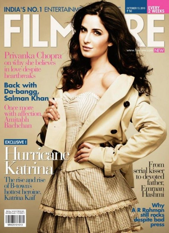 Katrina Kaif at Filmfare Magazine 2010