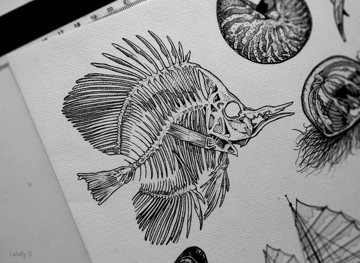 Tattoo design : Aquatic - Part III on Behance