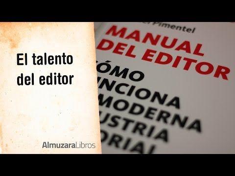 (1) El talento del editor - YouTube