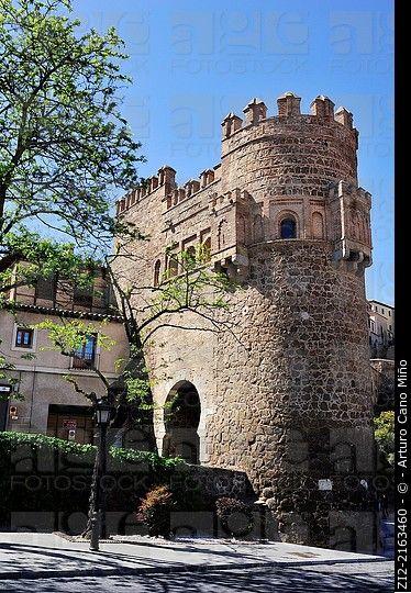 Puerta del Sol, mudejar, XIVth century, Toledo, Spain
