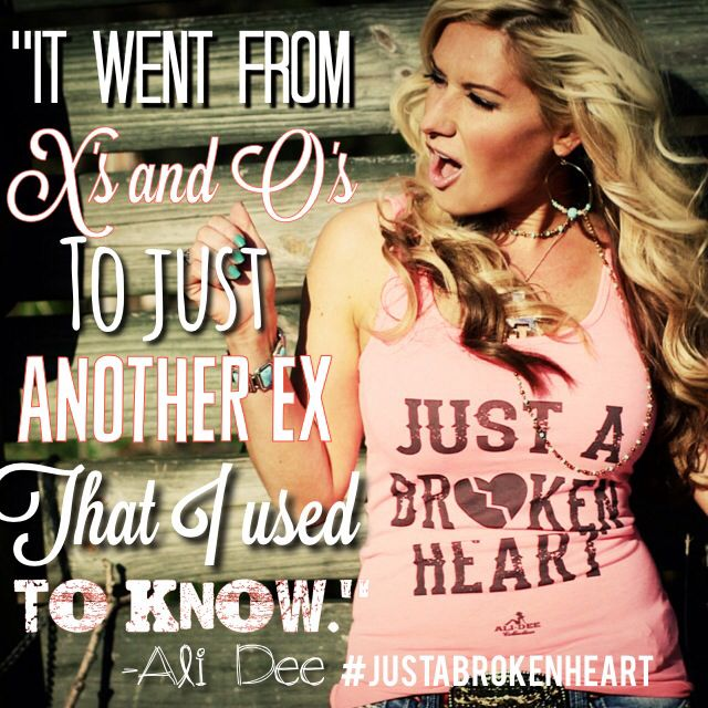 It went from X's and O's, to just another Ex that I used to know #justabrokenheart #comingsoon #hateitwhenthathappens #breakupssuck #newmusic
