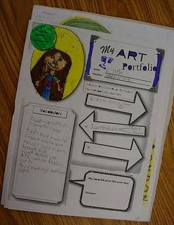 art portfolios from Mrs. Knight's Smartest Artists