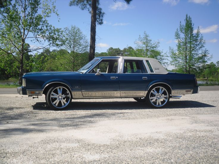 Image result for custom lincoln town car images