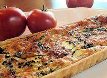 Gluten Free Tomato Tart