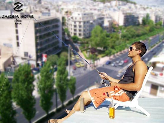 vacation in the city? why not in Athens Zafolia Hotel