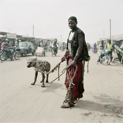 From the series of the Hyena men of Nigeria by Pieter Hugo