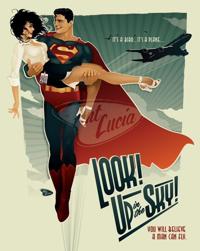 Look Up in the Sky print by Ant Lucia
