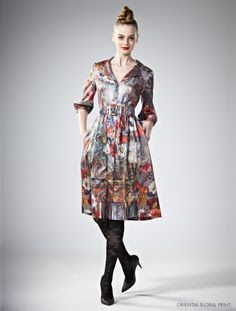 Image result for leona edmiston katie tropical print dress