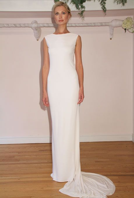 Brides: Randi Rahm - Fall 2012 | Bridal Runway Shows | Wedding Dresses and Style | Brides.com
