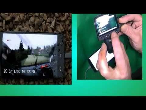 "B01M9DG2A0 TOGUARD 2.45"" LCD WiFi Caméra embarquée Furtive FHD 1080P cam..."