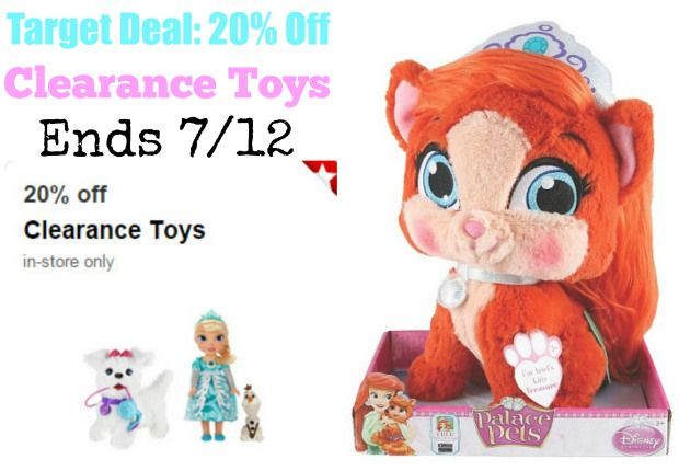 New Target Cartwheel Offer = 20% Off Clearance Toys At Target!