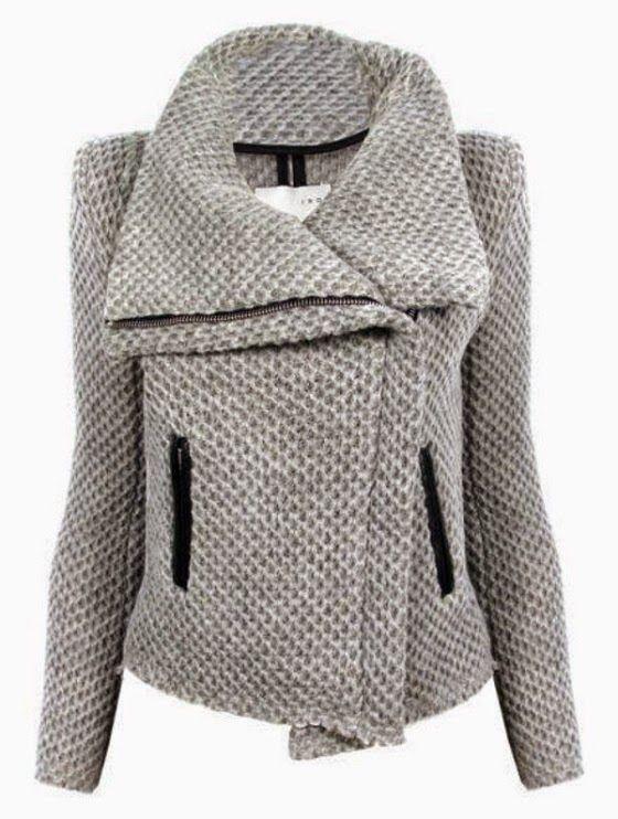 ShopBop Kristen Honeycomb Moto Jacket. #moto