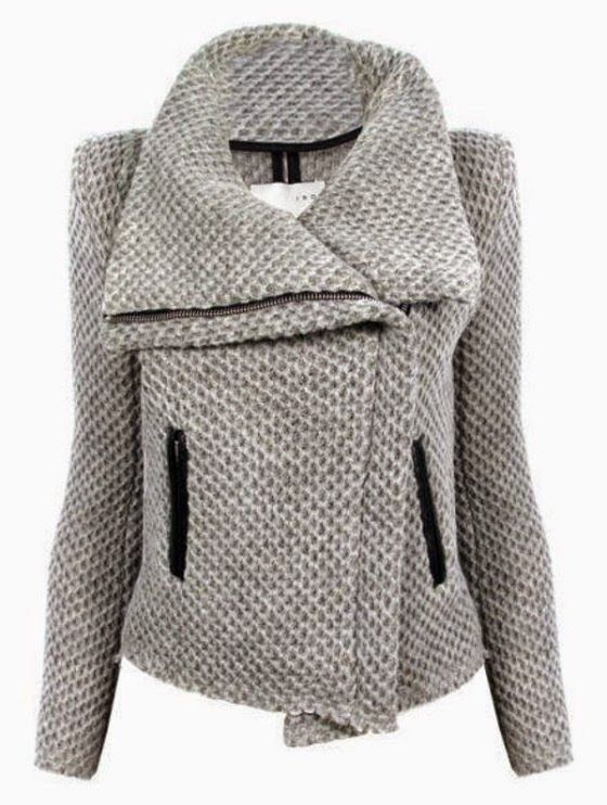 Kristen Honeycomb Moto Jacket. #ShopBop
