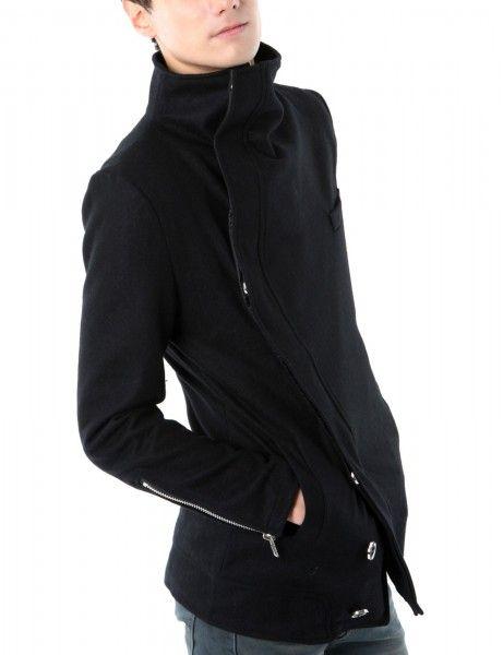Doublju - Casaco de Luxo com Gola Turtle (LCO7) Compre roupas de qualidade, com design inovador e preço justo!