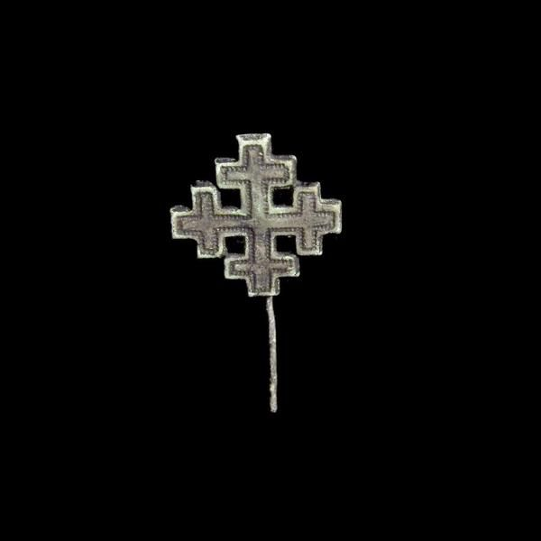 Bronze Knights Badge, Order Of The Holy Sepulchre, 13th-14th Century AD