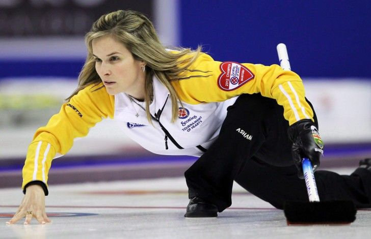 Jennifer Jones curling skills lead to the first undefeated, gold medal victory for Canada in Olympic history and Jennifer instantly became famous for it.