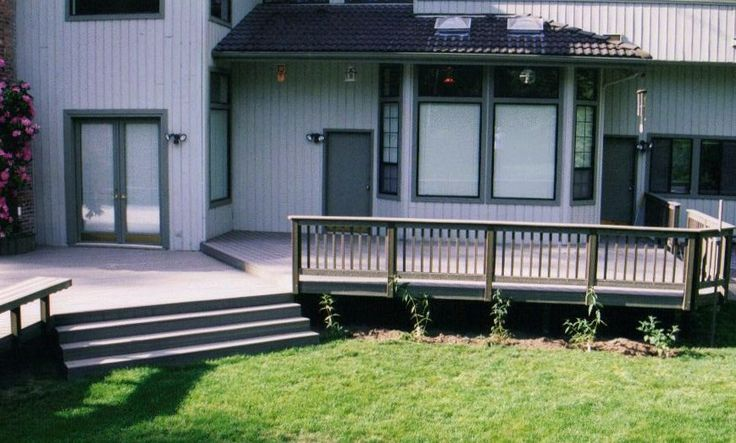 deck designs wrap around deck designs there are two sides to this story timbertech deck fort