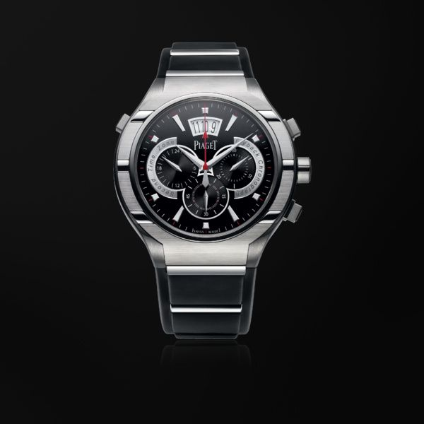 Titanium Flyback chronograph Watch G0A34002 - Piaget Luxury Watch Online