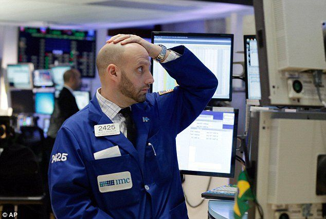 Update 5:00 p.m.: This post has been updated to reflect the close of the market. The Dow Jones Industrial Average fell by nearly 400 points at one point on