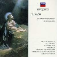 Bach: St Matthew Passion (Highlights) - Wunderlich, Prey, Ameling