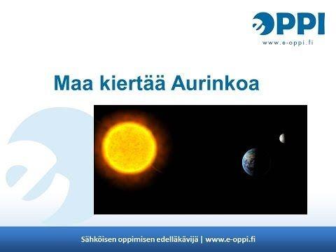 ▶ Maa on planeetta | e-Oppi Oy - YouTube