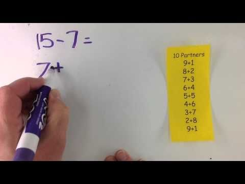 Make a Ten Then Add Strategy - YouTube