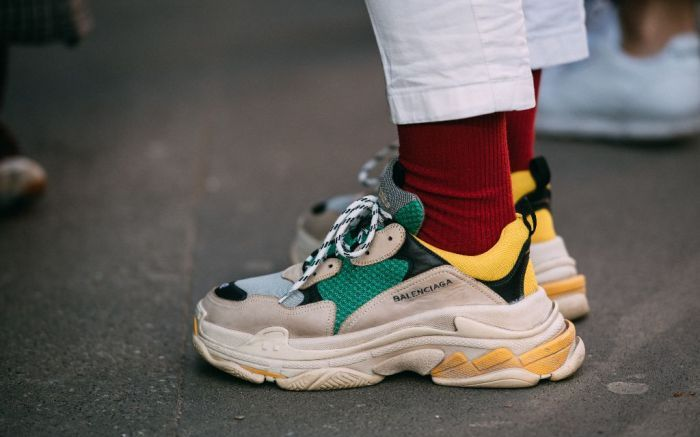 plus de photos f7400 80b20 Balenciaga Triple S Sneaker Soldes - Balenciaga Pas Cher ...