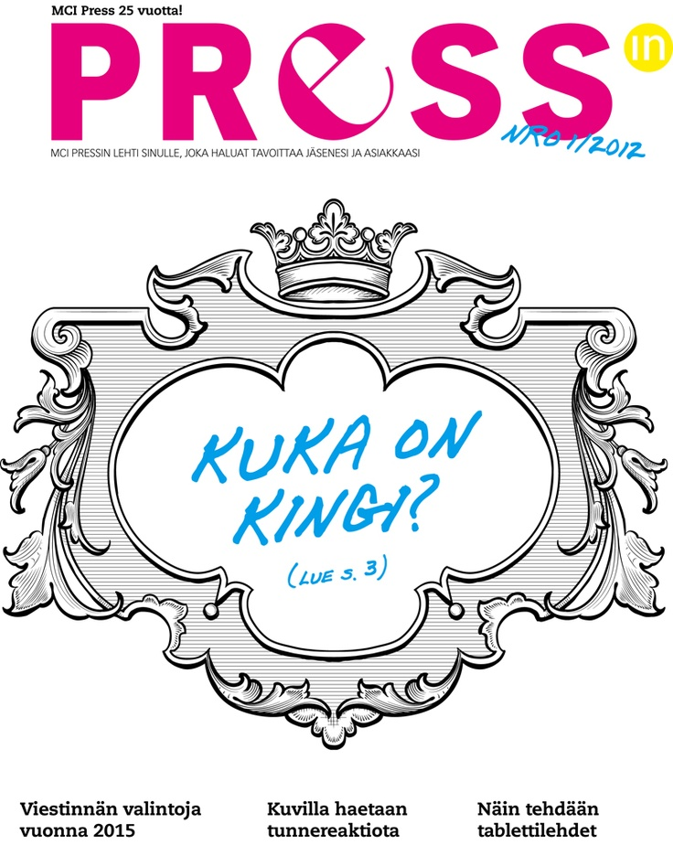 Pressin 1/2012. Lue lehti: http://www.issuu.com/mcipress/docs/pressin0112