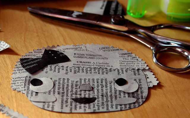 Super cute #recycle project for #newspaper! Love her work!