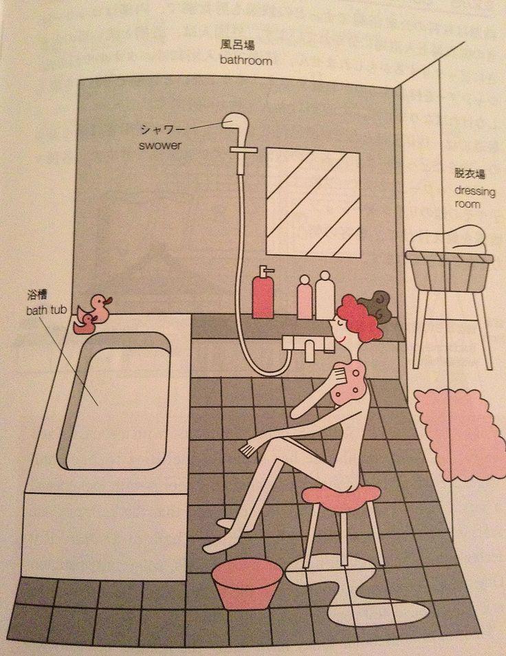 Japan's Heart and Culture: Japanese's bath customs