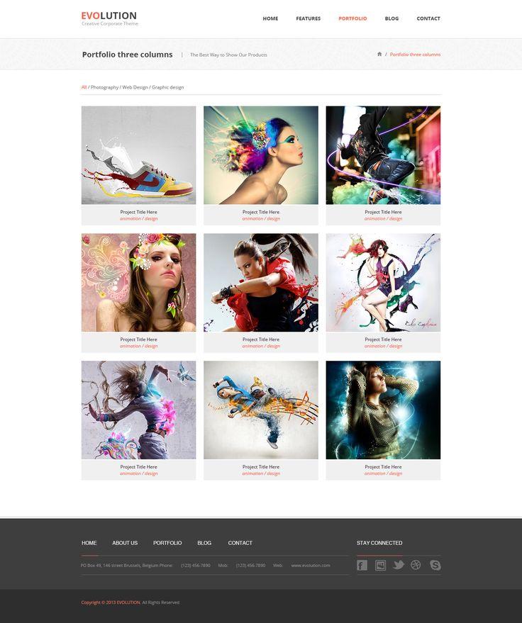 portfolio portfolio ideasphotography portfolioresumeweb design minimalisttemplates