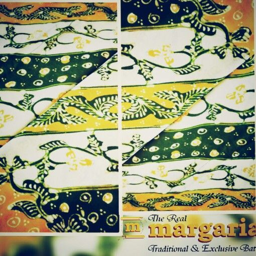 Kain katun motif lasem. With bright and happy color. Find it @realmargariabatik #lasem #batikindonesia #batik #yellowgreen #beautifull #shopping