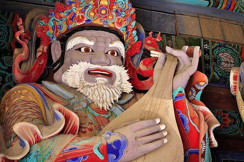 The Gate Guardian of Sinheungsa Temple