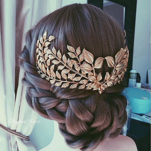 Leaves hair comb. credit @ulyana.aster  #hairsandstyles