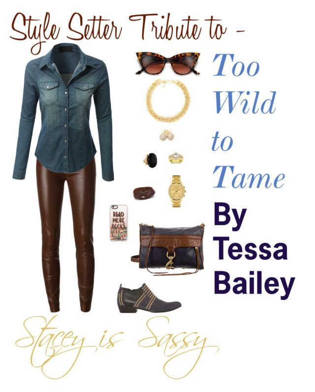 """""""Style Setter Tribute to Too Wild to Tame by Tessa Bailey"""" by staceyissassy on…"""