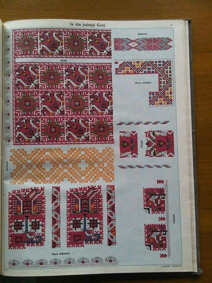 Romanian embroidery - blouse from Gorj region
