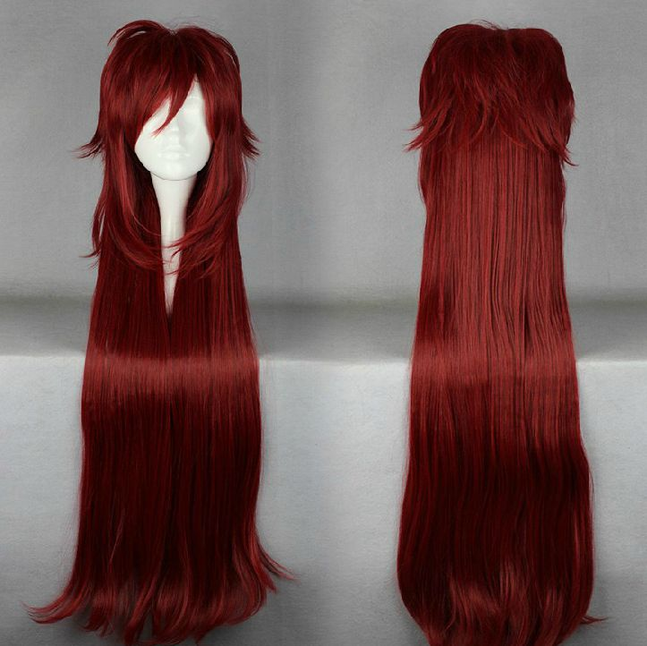 Black Butler Grell Sutcliff Cosplay Wig