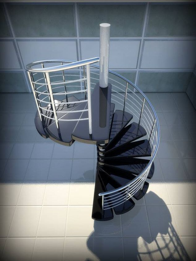 Las 25 mejores ideas sobre escalera helicoidal en pinterest for Escaleras 3d max