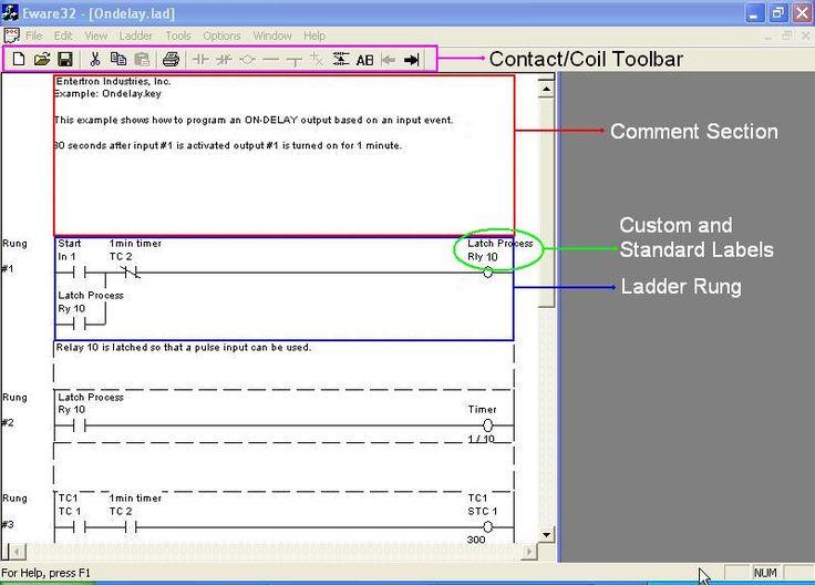 Free PLC Relay Ladder Logic Programming Software (with Simulator