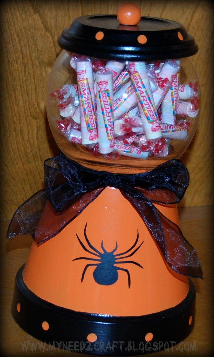 MyNeed2Craft: Halloween Candy Jar...