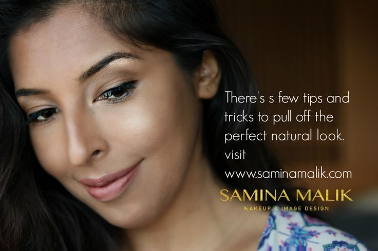 My signature no makeup makeup look, also known as the Natural Mama Course. Learn to look naturally beautiful with my unique makeup course designed to help bring out the best version of you!  You know where to go.. www.saminamalik.com