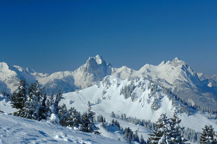#Station de #Ski #Gstaad #Suisse 1