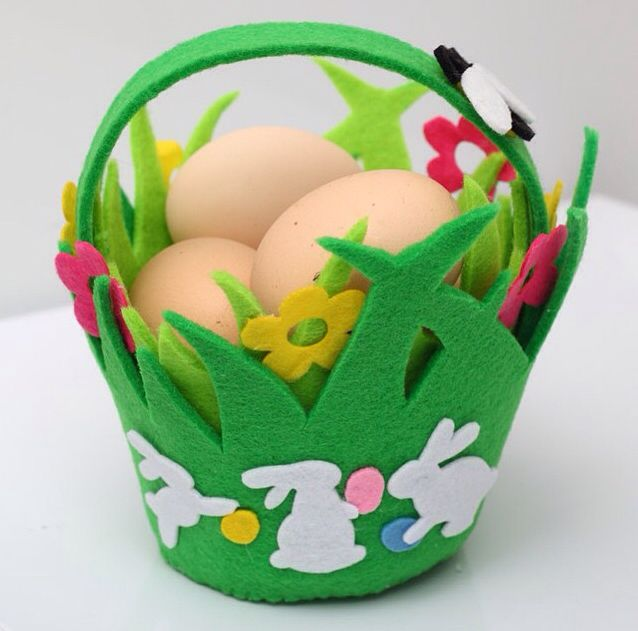 Пасха. Корзинка для яиц