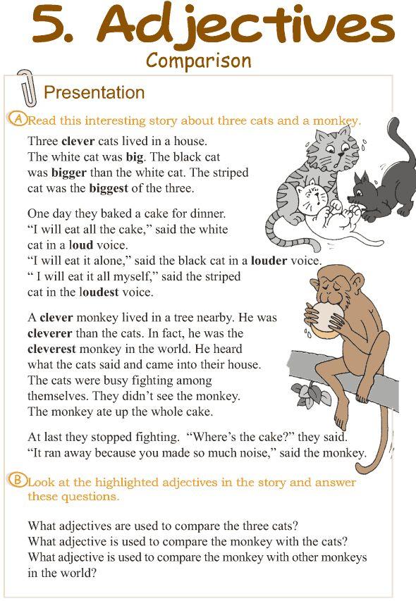 Grade 3 Grammar Lesson 5 Adjectives – comparison