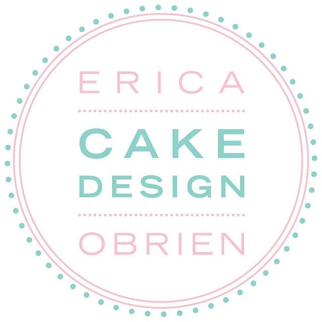 Erica OBrien Cake Design #logo #cake #branding @Erica Cerulo Cerulo OBrien