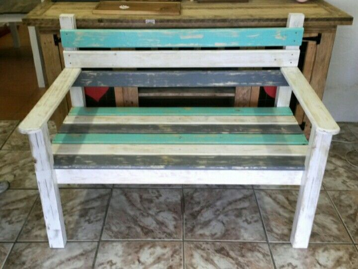 2 Seater Park Bench (Made by: Shane Ikin)